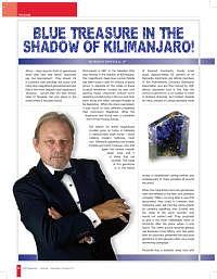 Tanzanite – Blue Treasure in the Shadow of Kilimanjaro