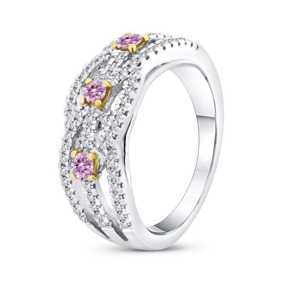 argyle pink diamond ring