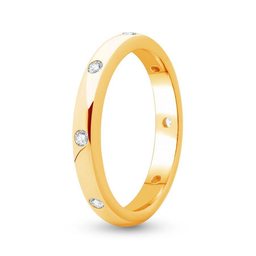 Women's classic wedding ring
