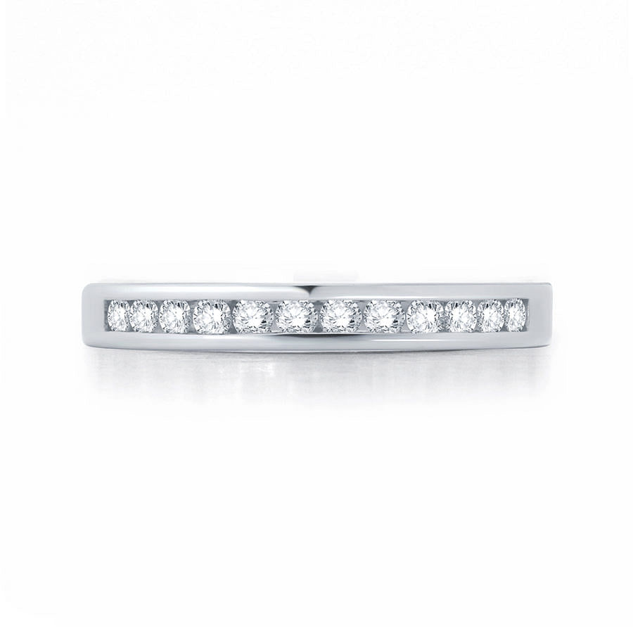channel wedding ring