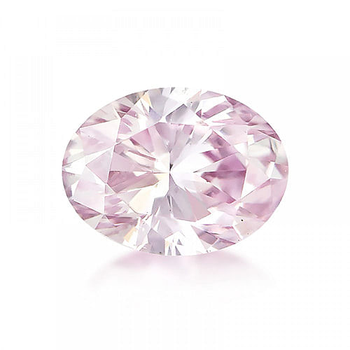oval argyle pink diamond