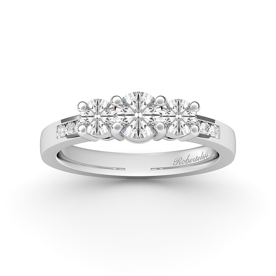 trilogy accents engagement ring